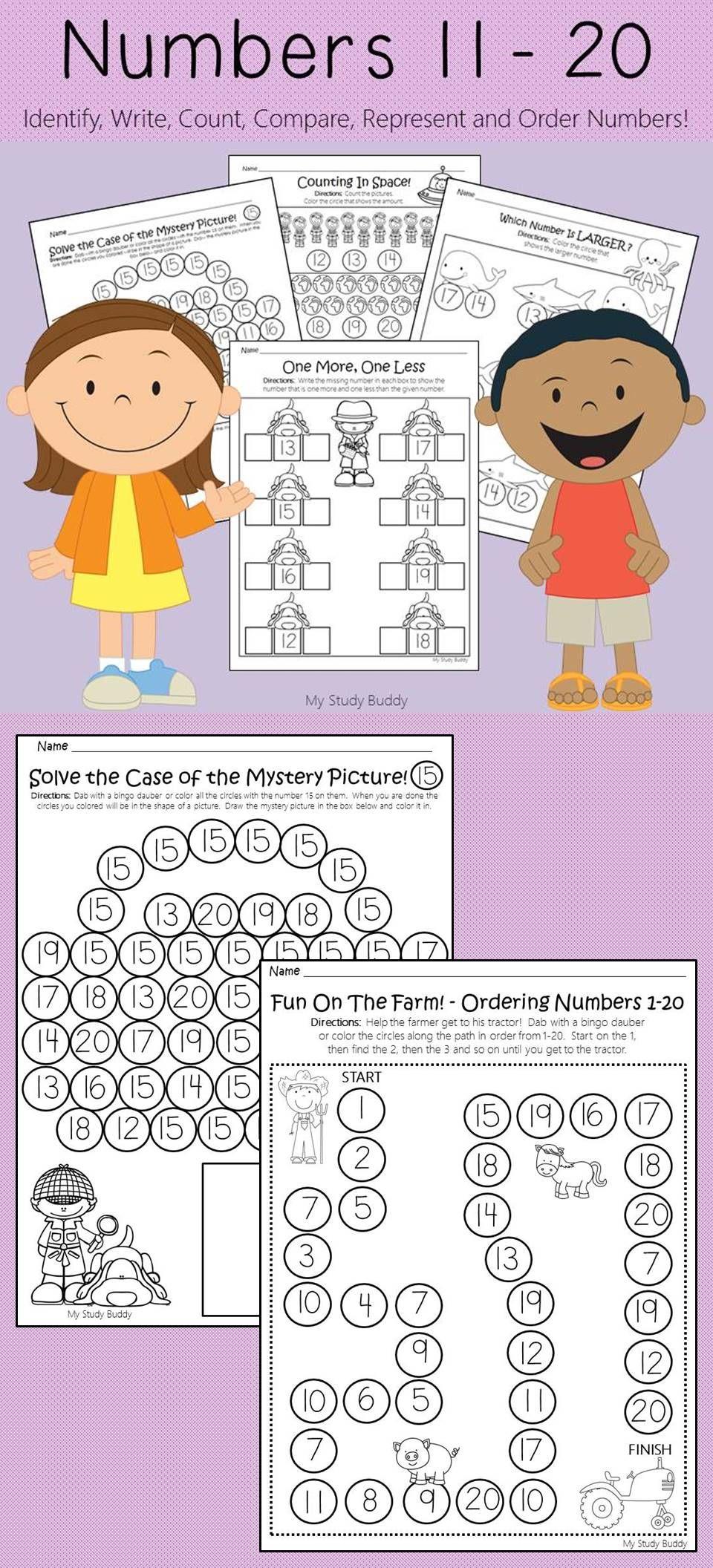 Numbers 11 20 Kindergarten Math Kindergarten Math Math Kindergarten Math Worksheets [ 2112 x 960 Pixel ]