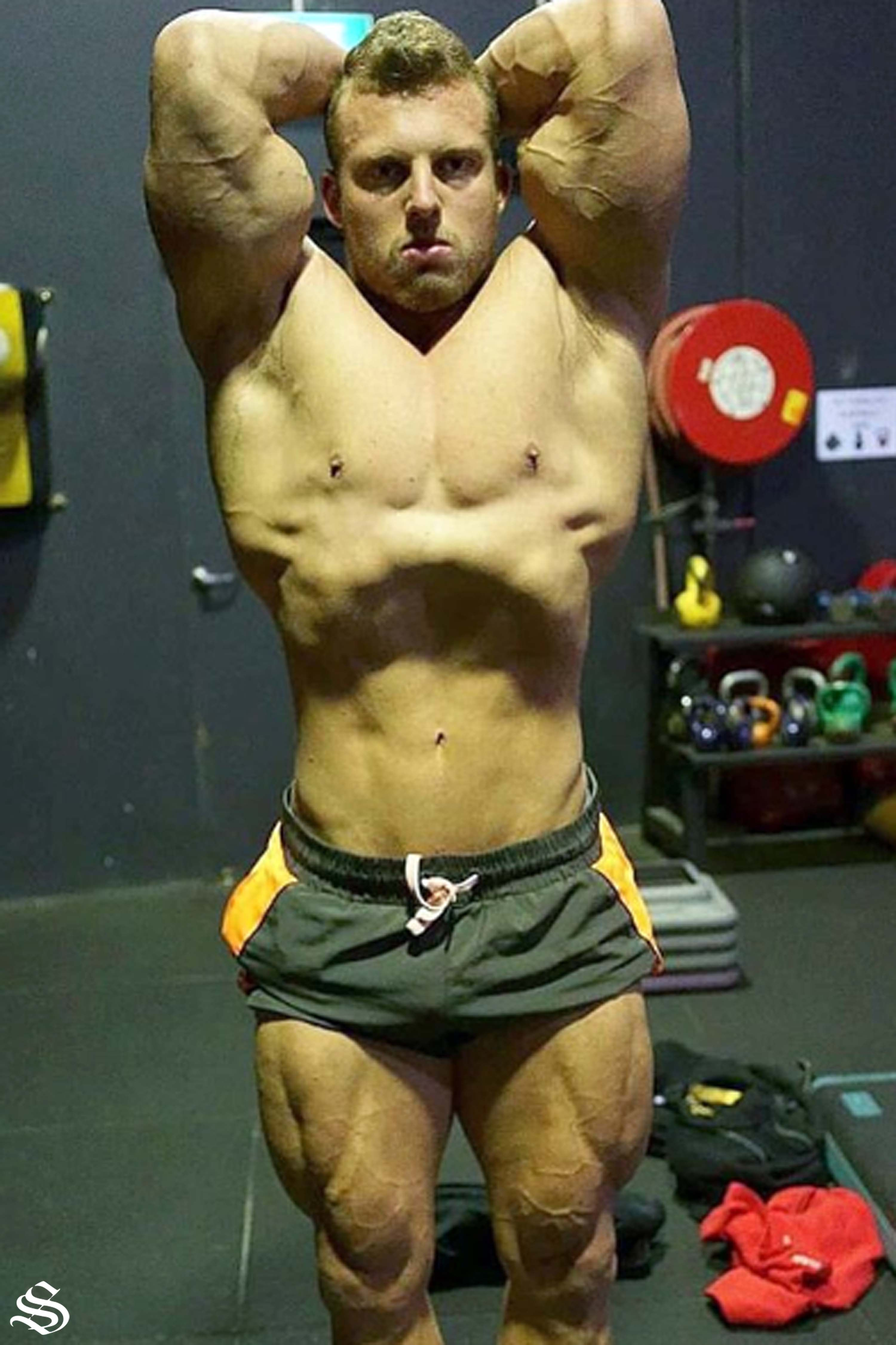 a0a924bd5 Strong Lift Wear: Powerlifting Shorts, Gym Singlets & More. What's your  favourite bodybuilding pose?