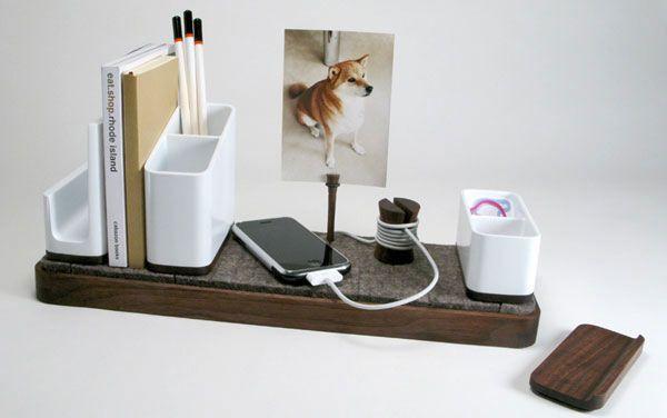 20 Cool Desk Organizers You Can Buy Hongkiat Desk Organization Stylish Desk Creative Desks