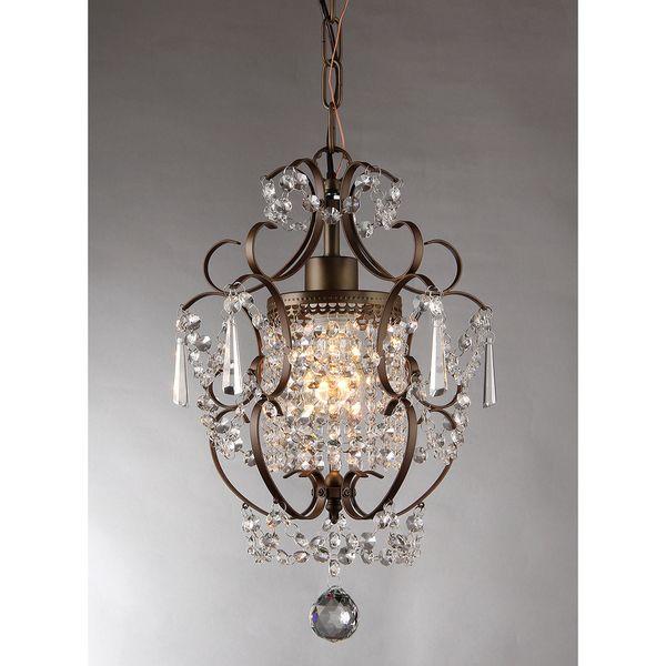 Rosalie 1 light antique bronze crystal chandelier is one of the rosalie 1 light antique bronze crystal chandelier is one of the best light fixture there mozeypictures Images