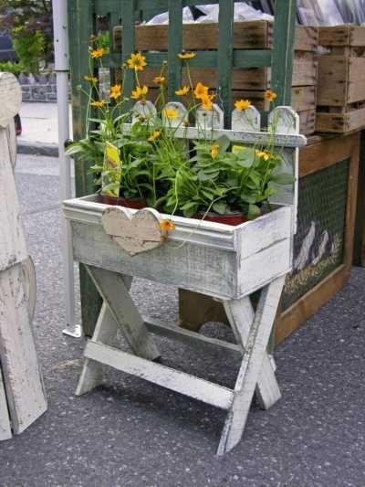 Stand Alone Window Box Protractedgardenprotractedgarden Planters Garden Containers Container Gardening