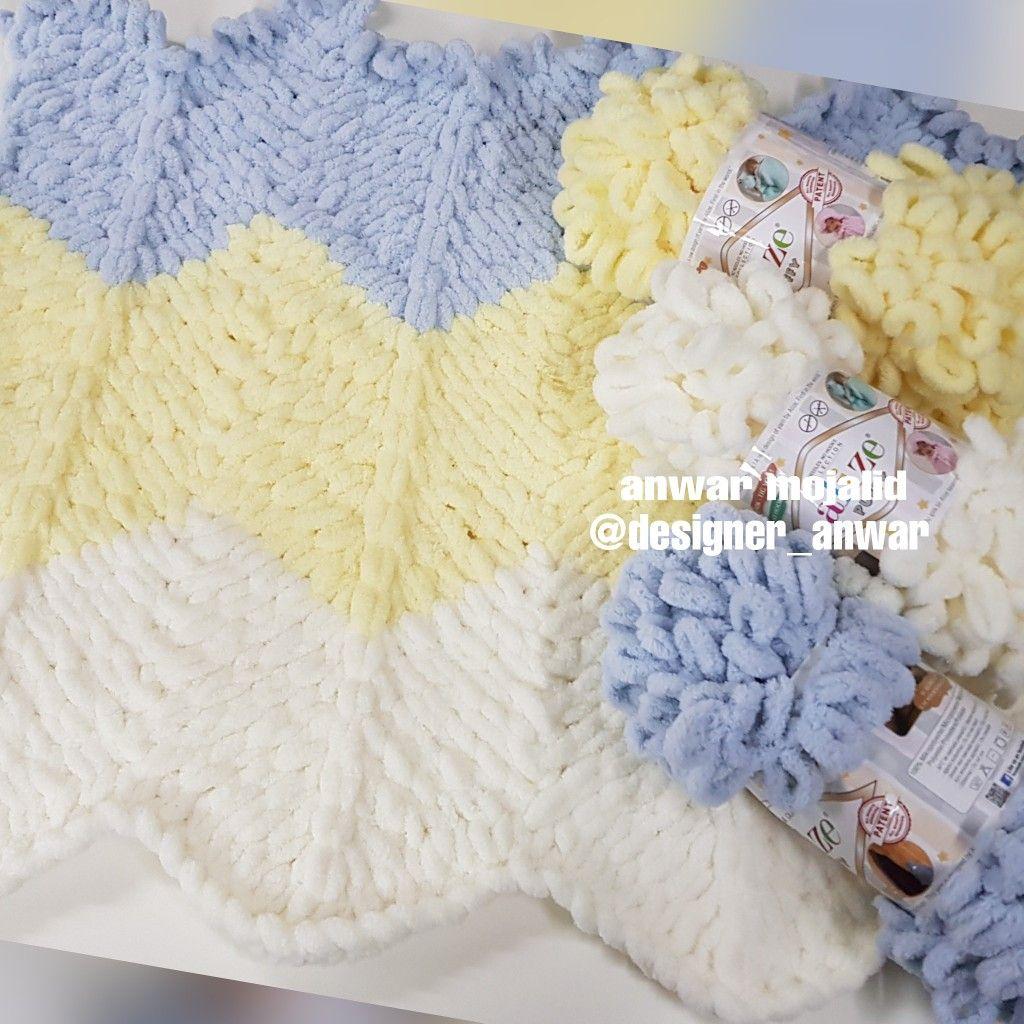 غرزه الزقزاق بخيط اليزا بافي Crochet Hats Crochet Hats