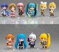 Vocaloid HATSUNE MIKU 10x Cute Minifigure Set: Rin Len Meiko Neru Kaito Haku A40