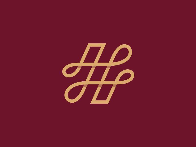 H Lettermark Logo Word Mark Logo Lettermark Logos H Letter