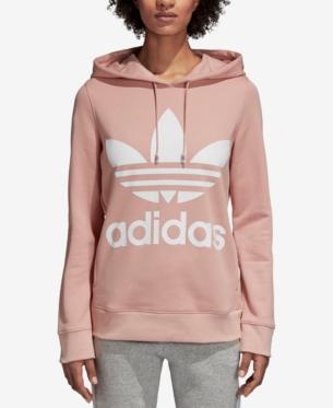 adidas adicolor Cotton Trefoil Hoodie in 2019 | Adidas