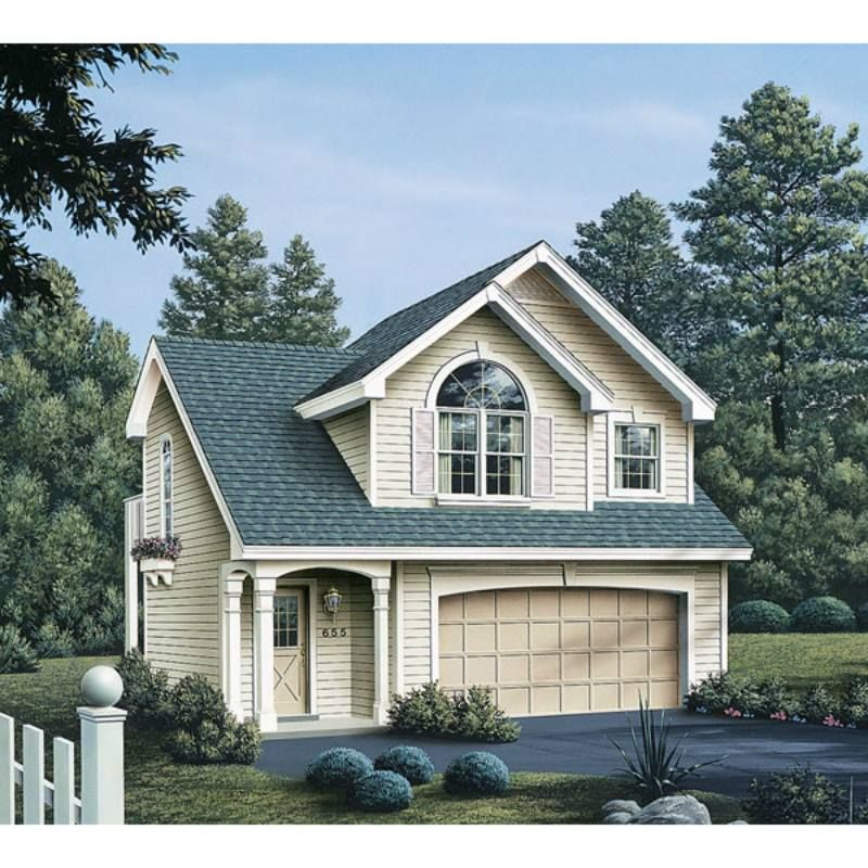 Garage Plan 86903 Cottage Ranch Traditional Style Plan