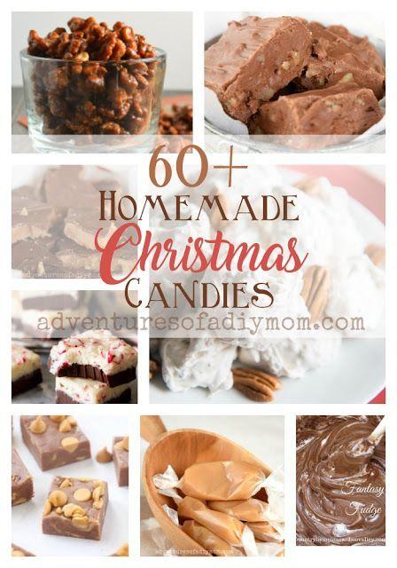 The Ultimate List of Homemade Christmas Candies  #christmascandies #christmastreats