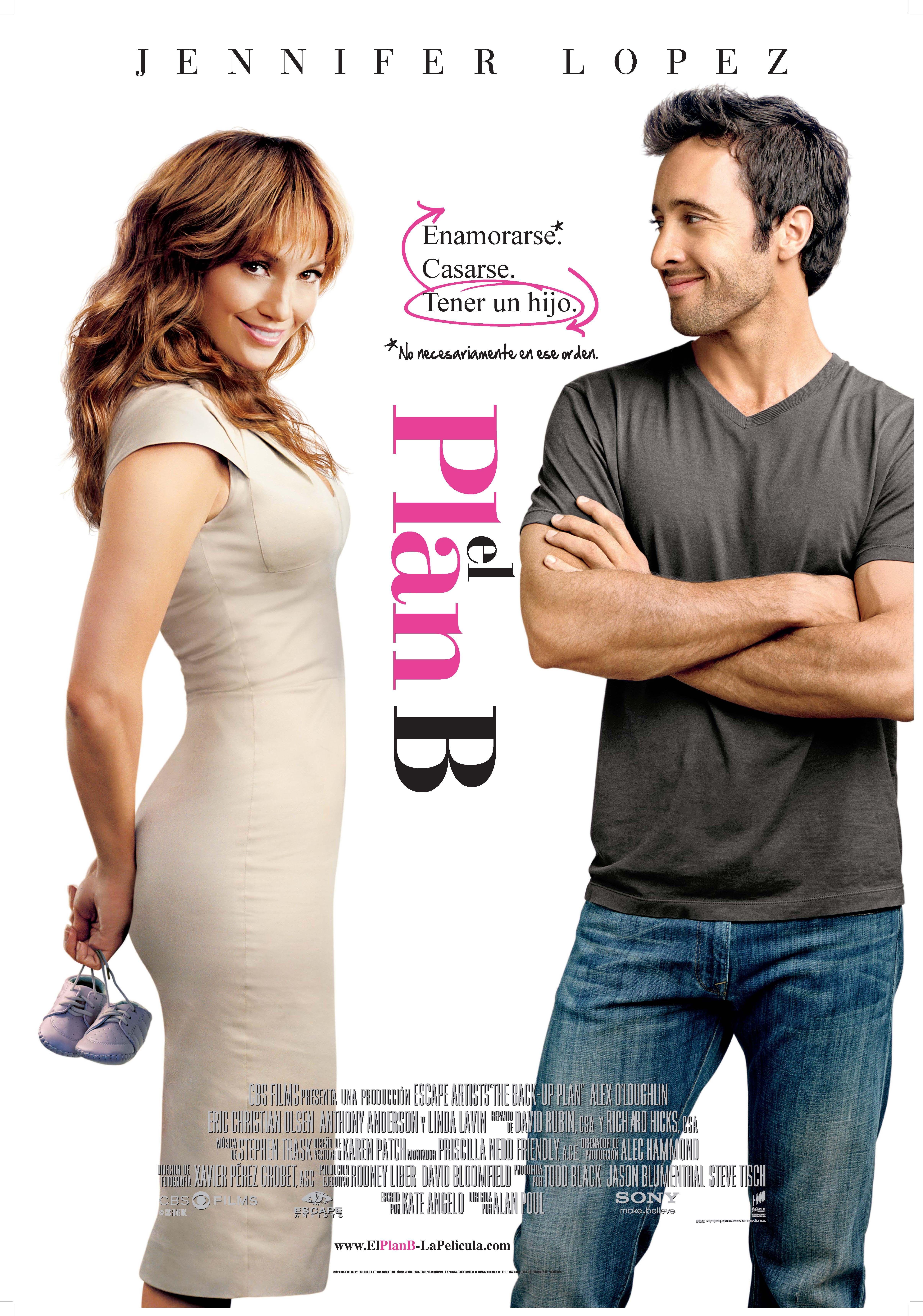 El PlanB  Comedia romántica que narra la historia de una mujer (Jennifer  Lopez) que 1937ce38fa6