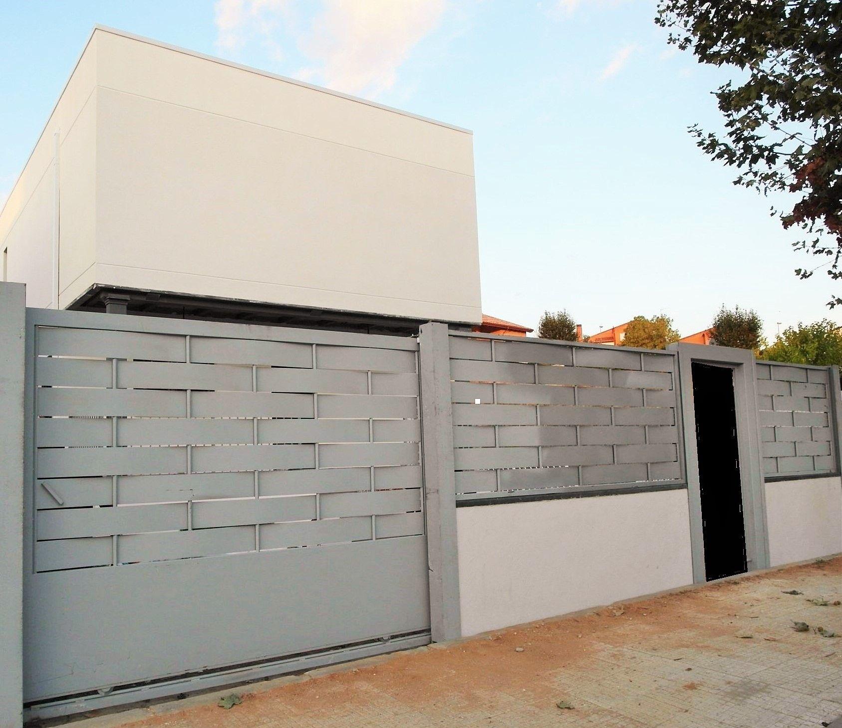 Cerramiento exterior casa prefabricada cubica - Cerramientos de piedra ...