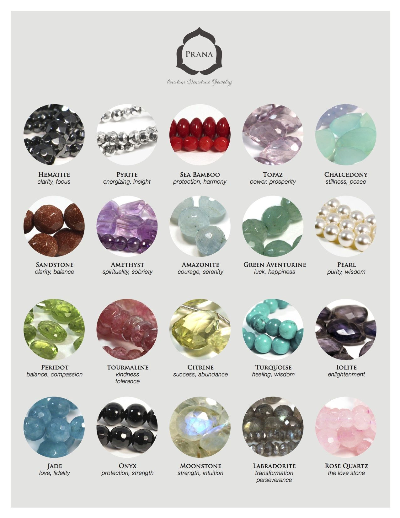 gemstones prana custom gemstone jewelry in halifax