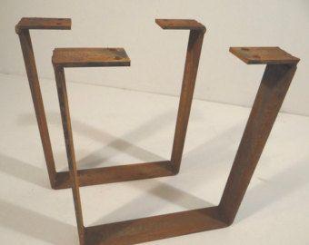 Metal Table Legs Etsy Uk