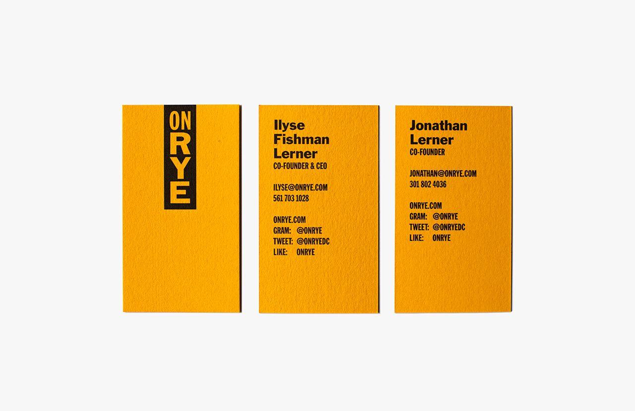 New Logo & Brand Identity for On Rye by Pentagram — BP&O | Brand ...