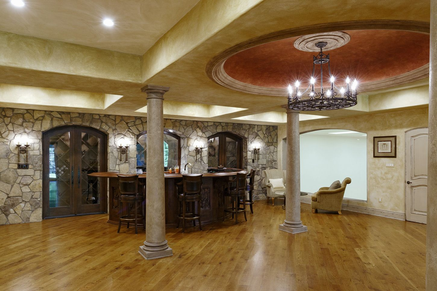 This 12 5 Million Mclean Mansion Has A Ballroom And An Indoor Basketball Court Washingtonian Dc Mansions Indoor Basketball Court Indoor Basketball