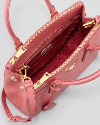 be4e51215c25 Prada Mini Saffiano Lux Tote Bag