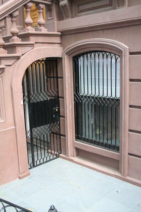 Landmark Style Window Bars Custom Iron Works Product