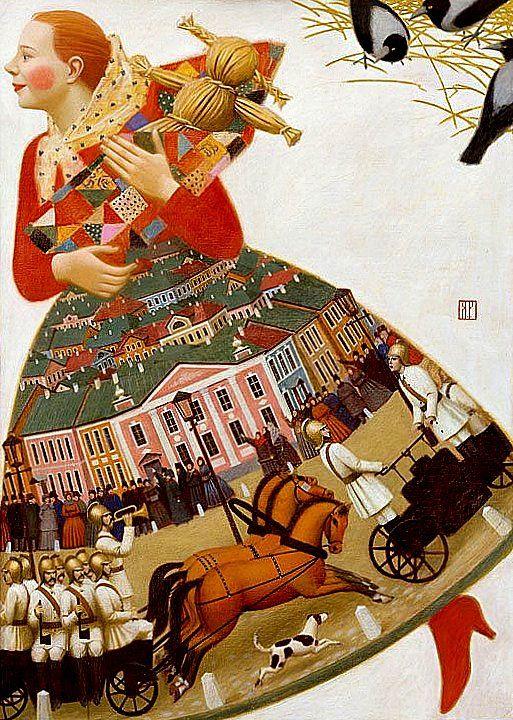"Russia.Andrey Remnev.  ""Рыжая""2004"
