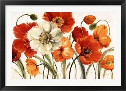 Poppies+Melody+at+FramedArt.com