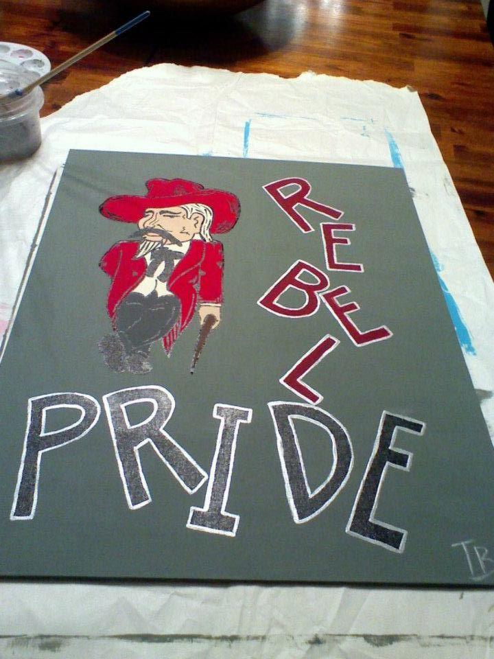 Rebel Pride - Highland Rebels
