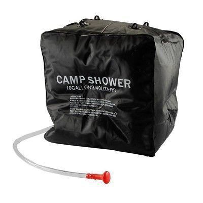 Shower Bag 40L tragbare Solar Camping B6U3 Shower Bag