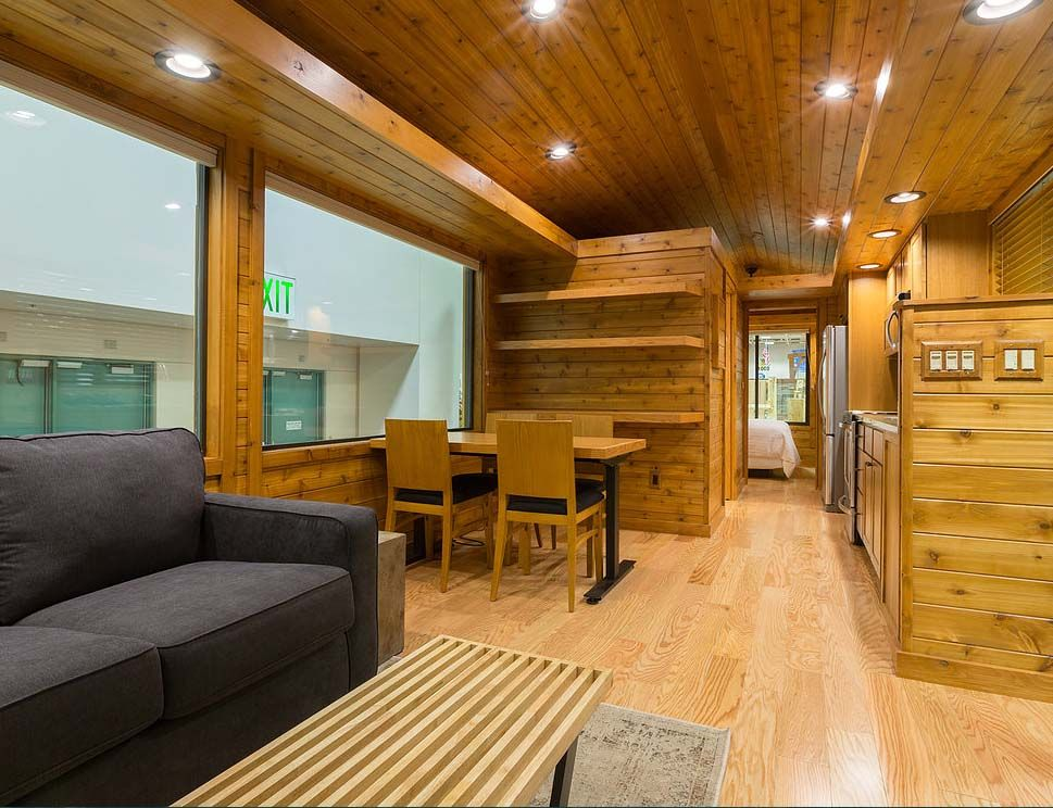 This Tiny Log Cabin Is READY TO GO And You Will LOVE The Interior!