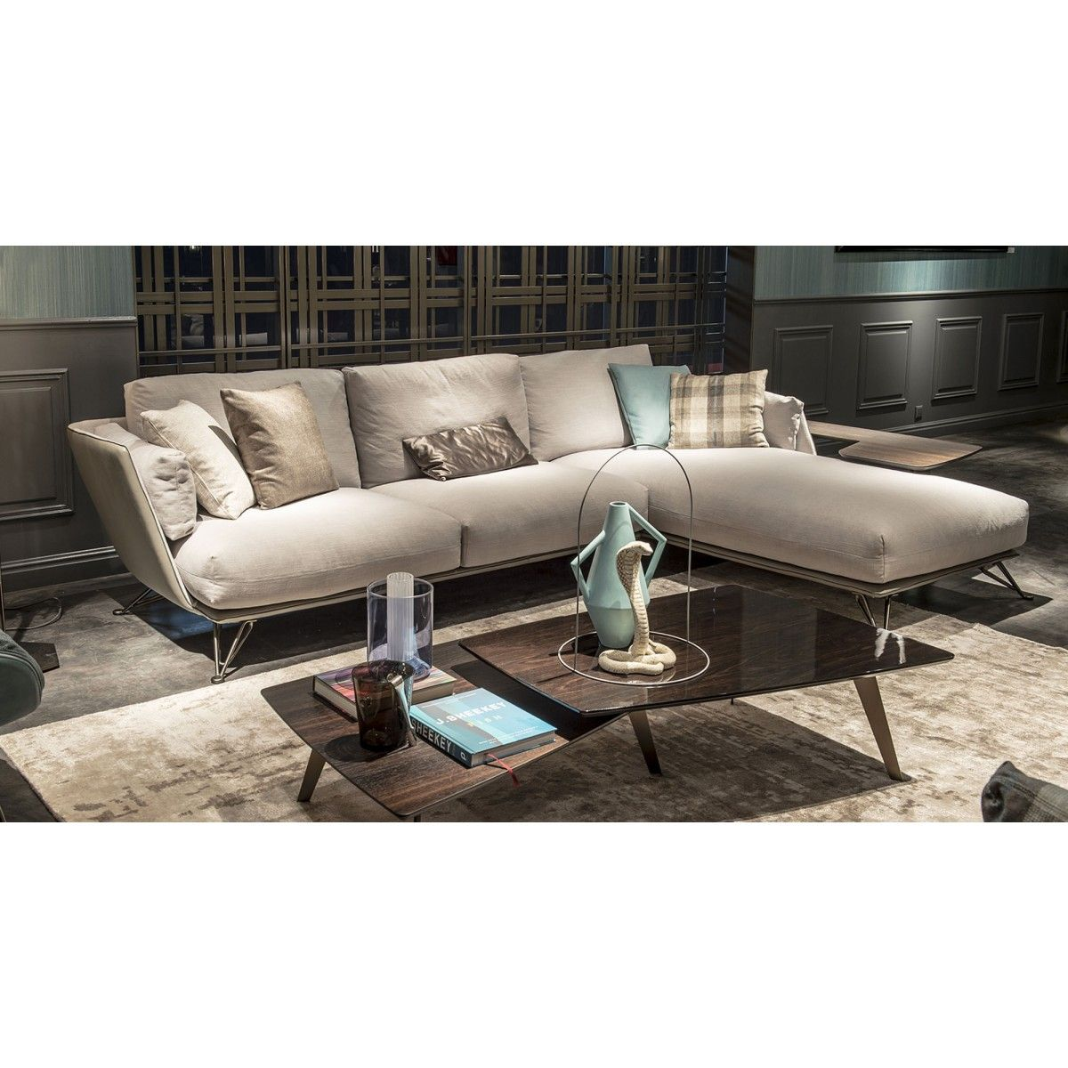 Morrison A Sofa With Chaise From Arketipo S New Modular Range Solid Structure Contains
