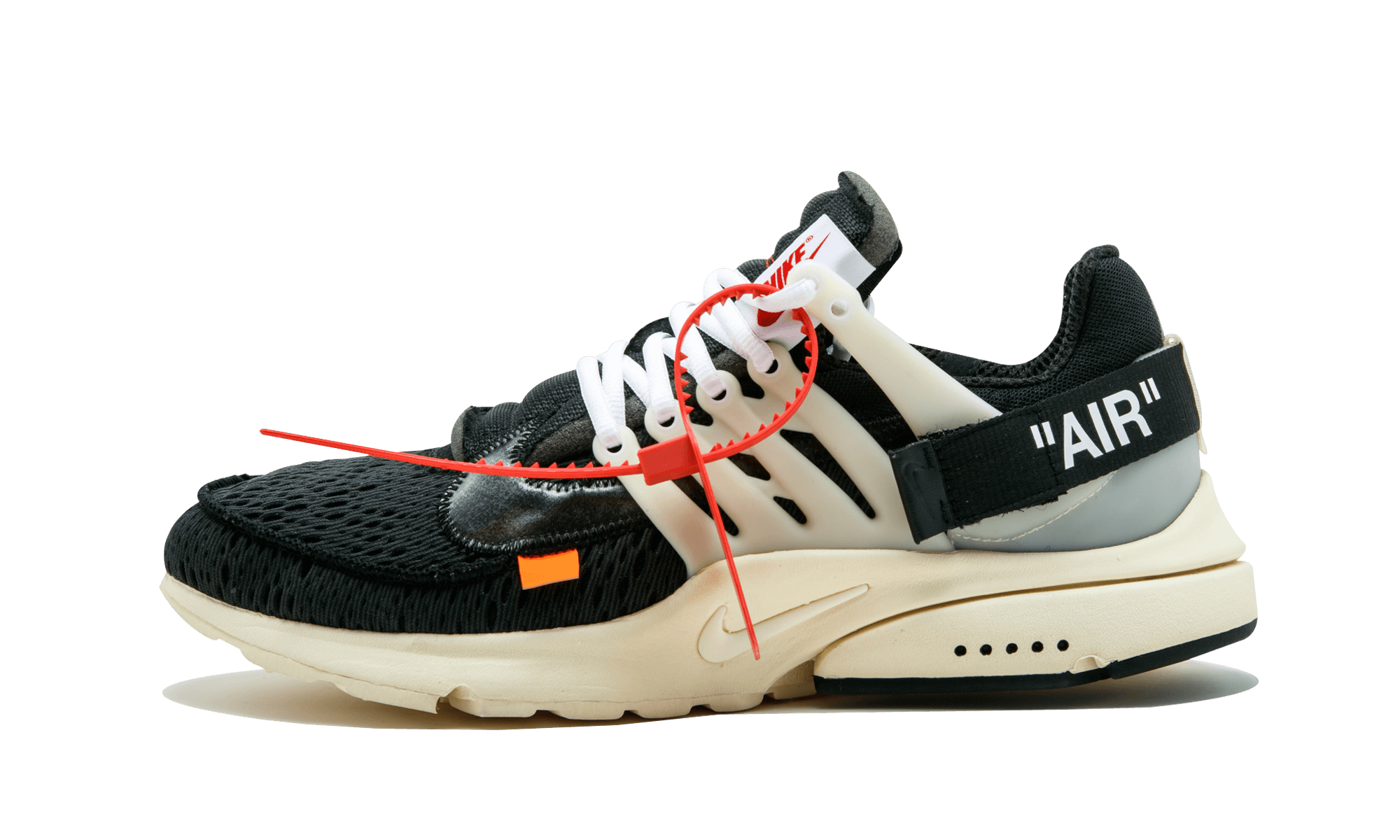 Nike The 10 Air Presto Off White Aa3830 001 Red Sneakers Nike Air Presto Air Presto Black