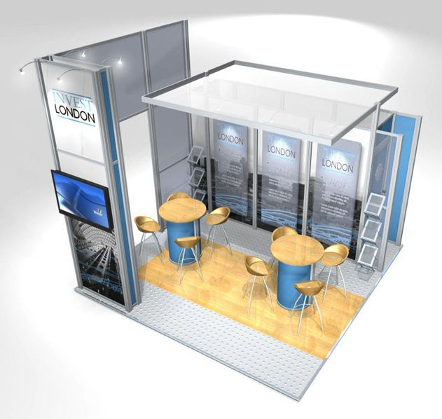 Modular Exhibition Stands London : Modular exhibition stand from discountdisplays