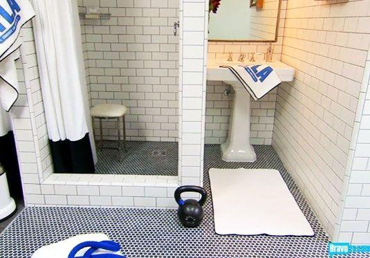 Gym Bathroom Designs Captivating A Gym Bathroom Designedand Worthy Of Jeffrey Alan  Http Decorating Design
