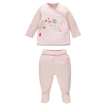New collection aw16 : baby girl pyjama / ensemble pyjama fille détails raffinés Thème Jolis gazouillis #aw16 #new collection #babygirl