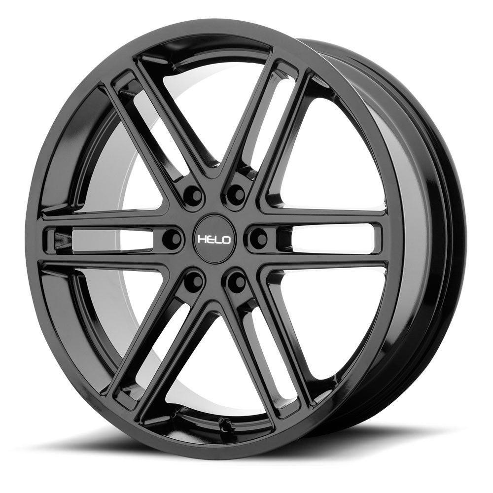 """20"""" Helo HE908 Gloss Black Wheel 20x9 6x120 30mm 6 Lug"""