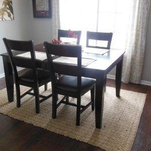 Sisal Rug Under Kitchen Table  Httptvhss  Pinterest Pleasing Rug Under Kitchen Table Inspiration