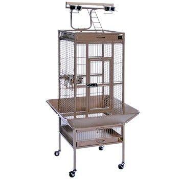 Millie wants a cage like Tiki
