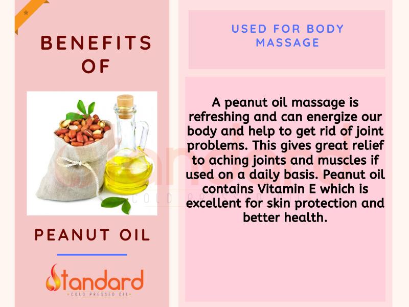 Peanut Oil Used For Body Massage Peanut Oil Oil Control Products Oils