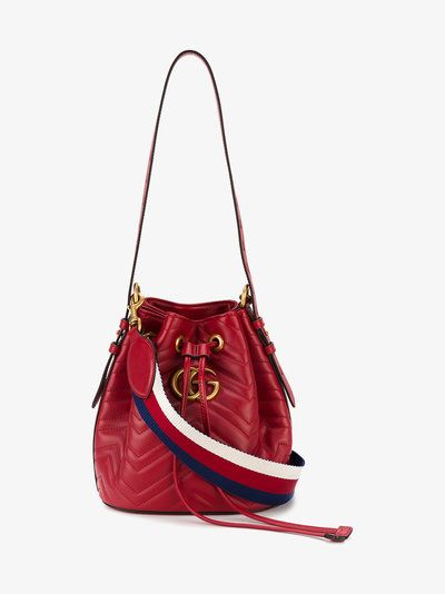 0cc42df54691 Gucci GG Marmont Quilted Bucket Bag | Bags in 2019 | Bags, Gg ...