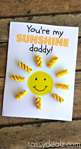 Fathers Day Cards Gifts Kids Can Make Redoremix Pinterest