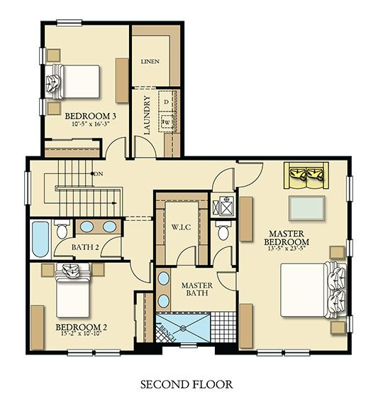 Featuredfloorplan The Second Floor Of The Kaplan At