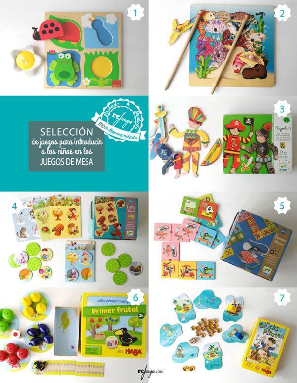 Juegos De Mesa Para Ninos Pequenos Ideas Para Introducirlos En El