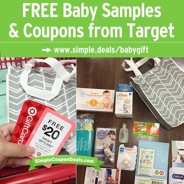 Expired FREE 20 Target Gift Card + Baby Gift Bag (60
