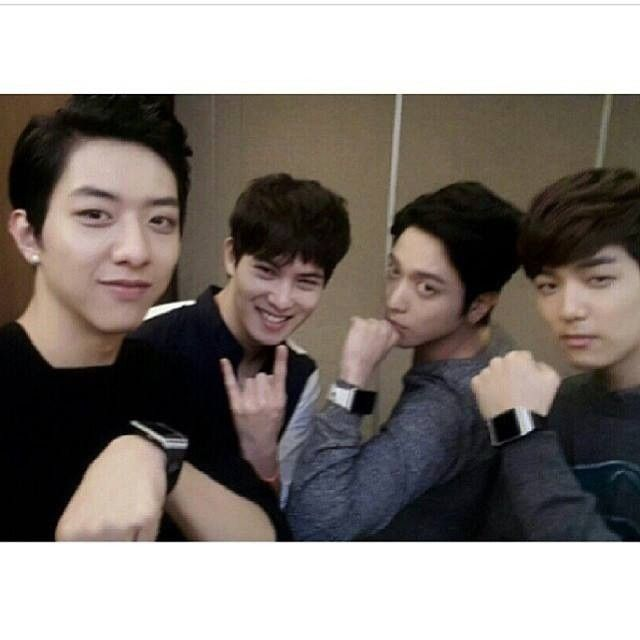 Don't you think they are the most cute/adorable/talented band in the world?!?!  #cnblue #bluemoon #bmjkt #kpop #band #jungyonghwa #leejonghyun #leejungshin #kangminhyuk #boice #worldtour #lovefnc #lovely #love4cnblue #welovecnblue