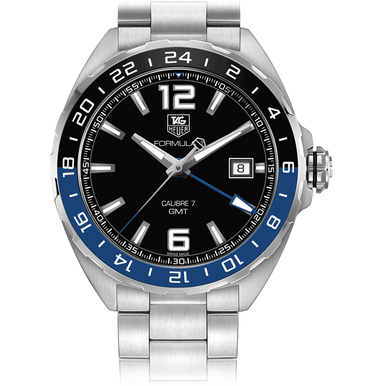 TAG HEUER FORMULA 1 Calibre 7 Twin-Time | GMT auto watches