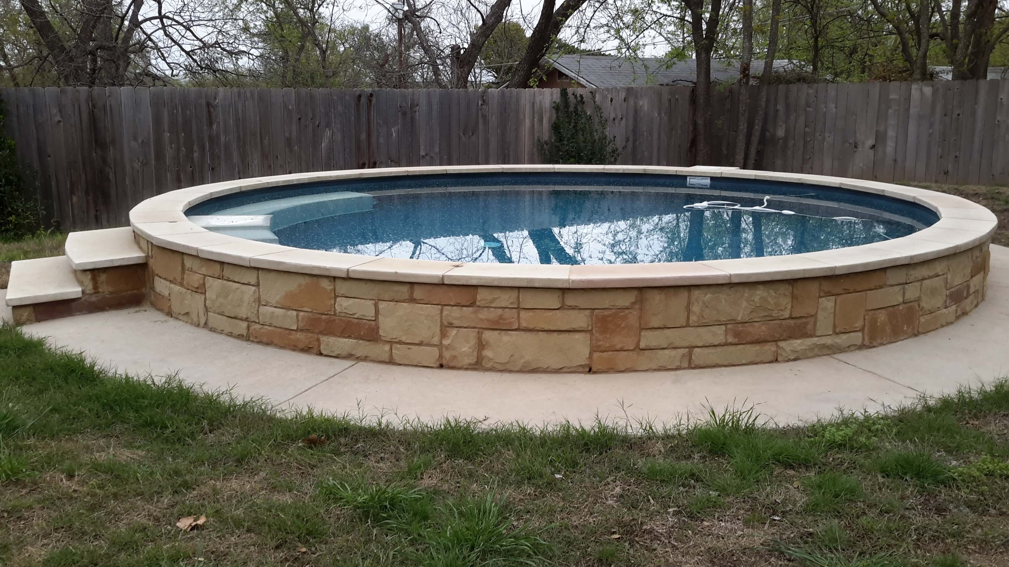Pool Bauen 8 X 4 Pool From Stock Tank 21 Inexpensive Pools In 2019 Stock Tank