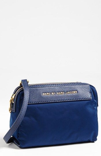 4d929ad4a MARC BY MARC JACOBS Jewel of the Nylon Crossbody Bag   Nordstrom   blue  DEPTHS