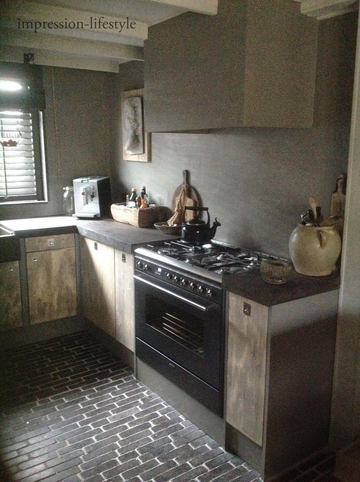 Muren en schouw kleur als carte colori verf idee n pinterest - Decoratie van keukens ...