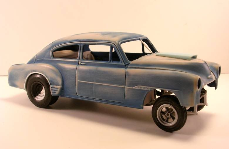 56 Chevy Gasser   WIP '51 Chevy Gasser - On The Workbench - Model Cars Magazine Forum