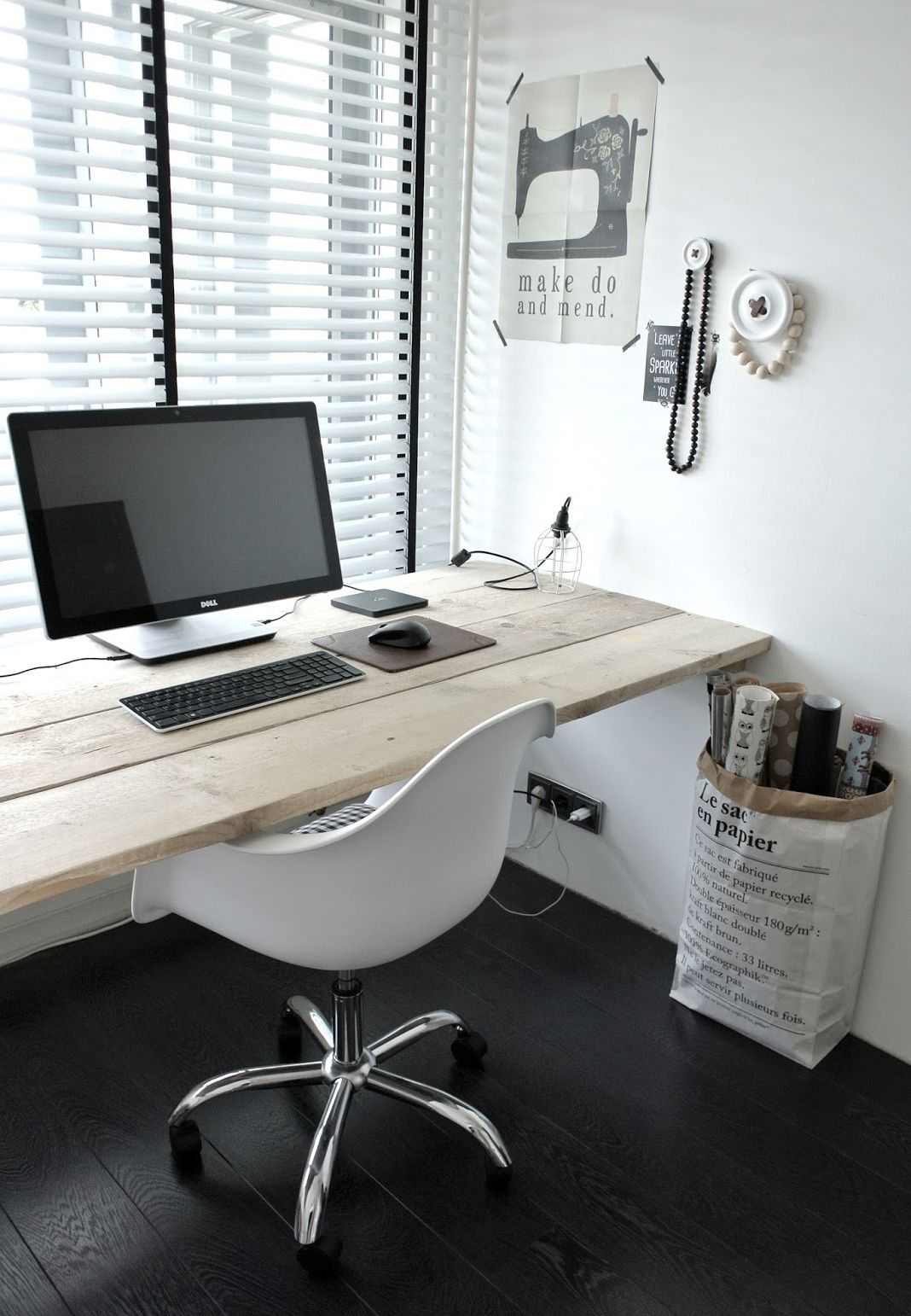 Minimal Office Space.