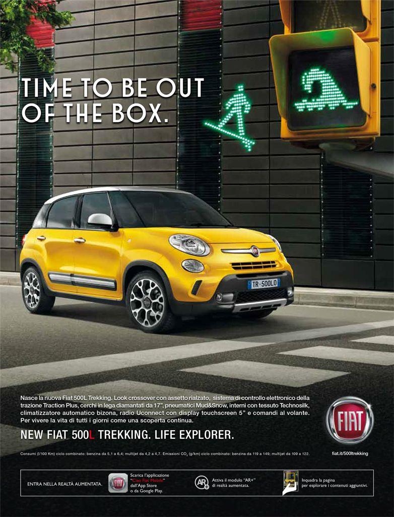 Fiat 500l Trekking Italian Advertising Ciao Fiat Mobile App