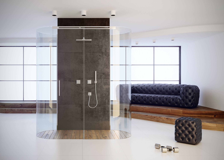 Dove bagnodoccia ~ Piatto doccia su misura p dreno a centro stanza pedana in legno