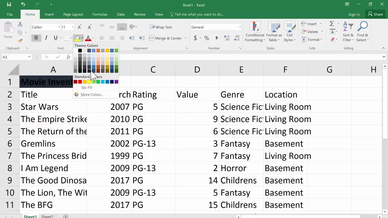 The Beginner S Guide To Excel Excel Basics 2017 Tutorial Excel Tutorials Excel Tutorial