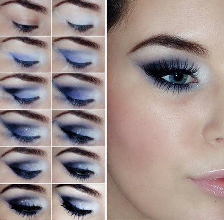 Bien-aimé Tuto maquillage yeux – 28 belles photos et idées à imiter | Tuto  HL89
