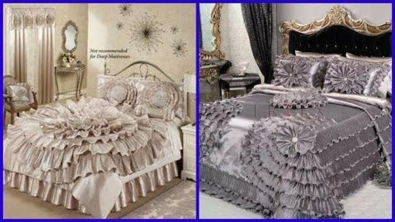 Designers Bed Sheet Designs Bridal Bed Sheet Design Ideas